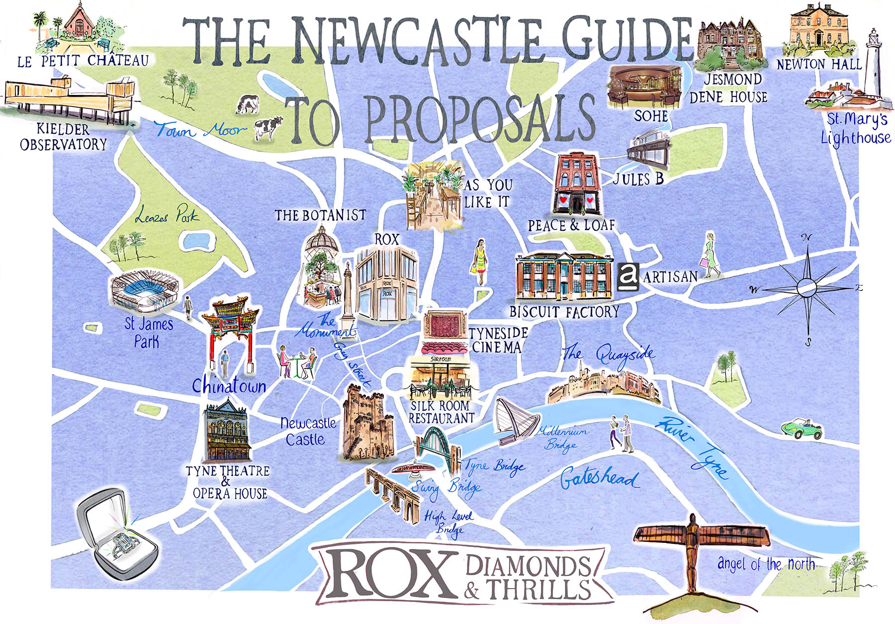The Newcastle Guide To Proposals By ROX