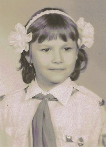 My third grade pioneer picture (1985)