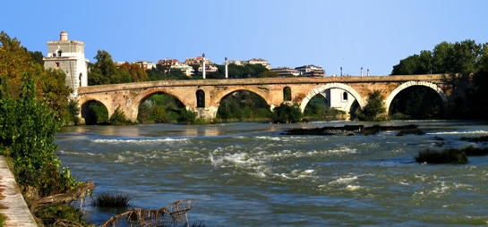 The Milvian Bridge, Italy