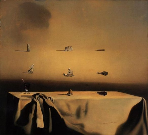 Jack's favorite Salvador Dali painting, Morphological Echo (1936) that illustrates well the concept of transformation of a metaphor