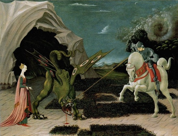 Paolo Uccello, Saint George and the Dragon - Wikipedia