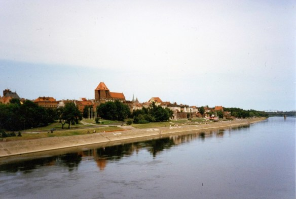 Toruń Skyline on the Shores of the Vistula (Wisła)