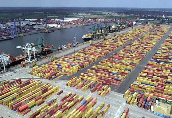 Container terminal, Port of Antwerp - Wikipedia