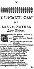 Book One of De rerum natura (1675) - Wikipedia
