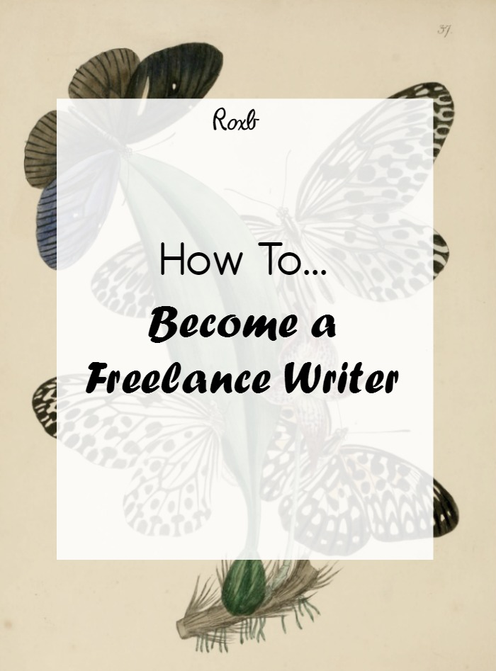 How to become a writer