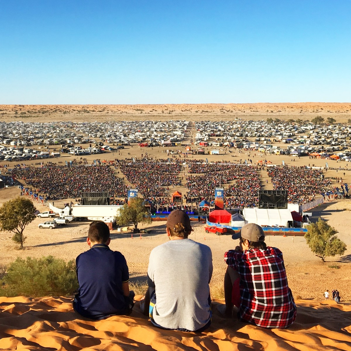Why Do Millennials Go Crazy Over You're The Voice & The Horses? Hanging Out With John Farnham & Daryl Braithwaite At The World's Most Remote Music Festival, The Big Red Bash