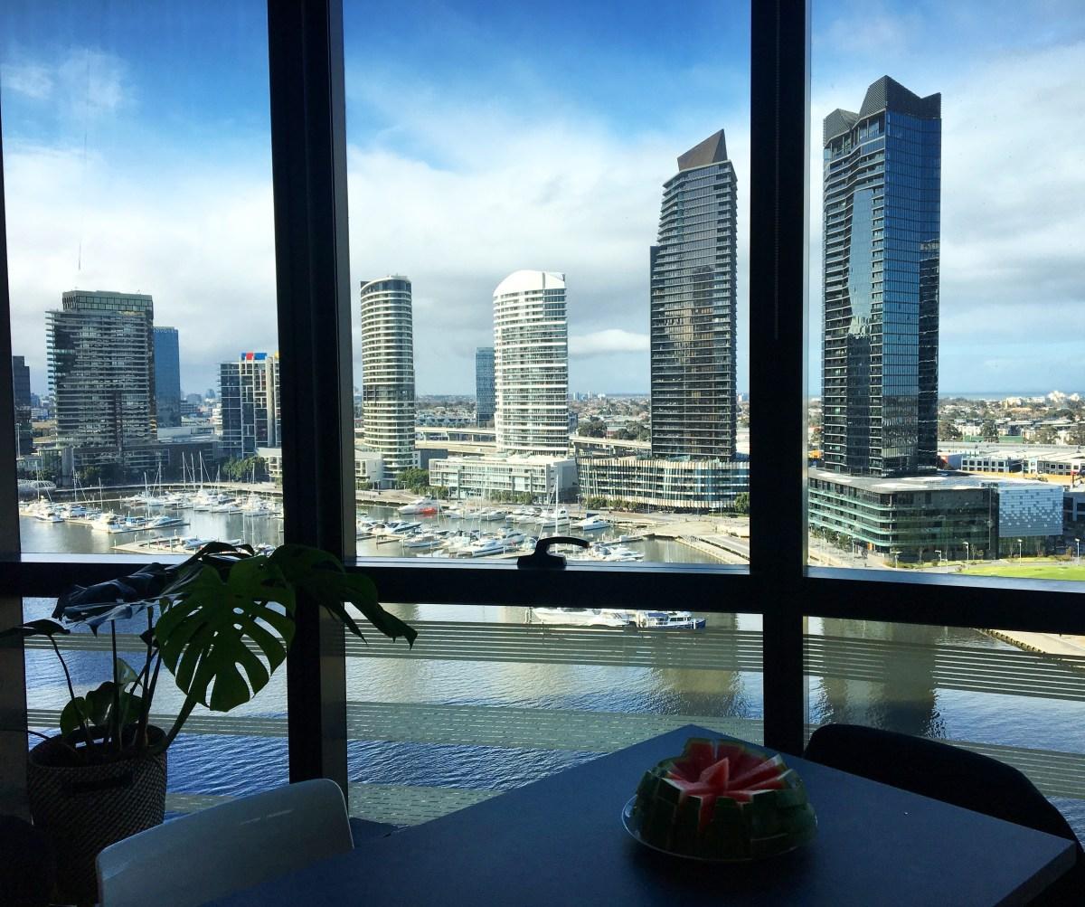 Sampling High-Rise Airbnb Luxury In Melbourne... While Dressed As Worzel Gummidge