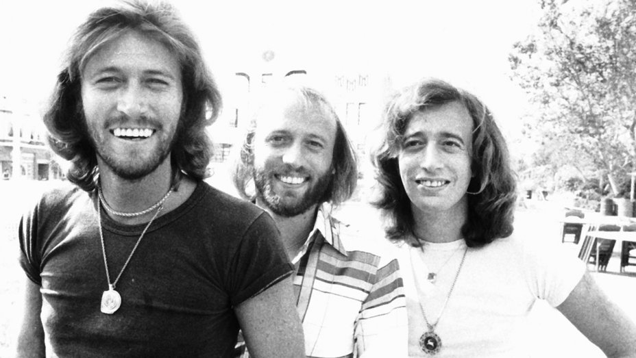Bee Gees black and white