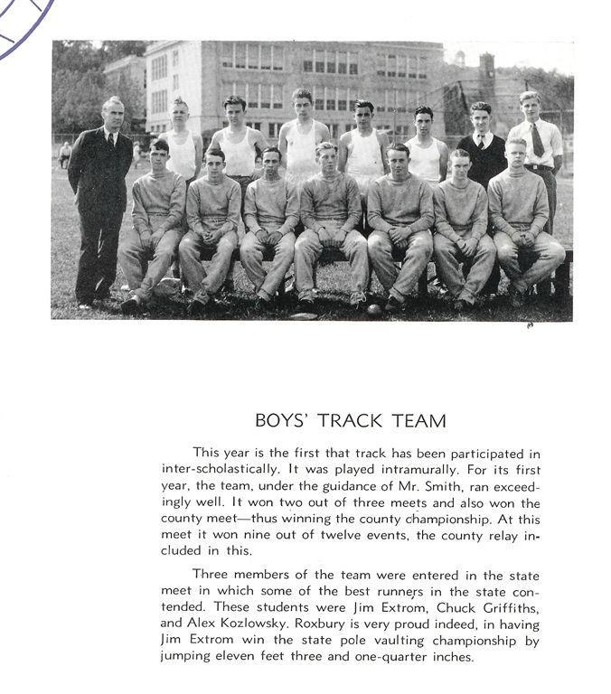 1936 Roxbury High School, New Jersey Yearbook