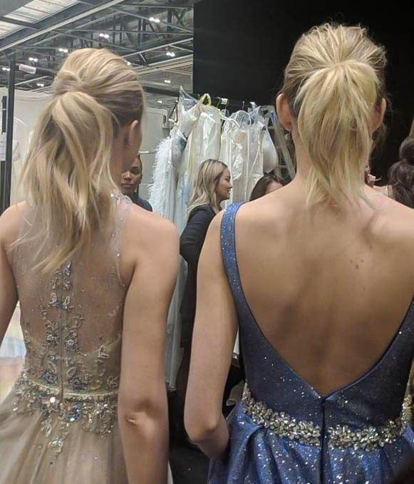 Ponytails Bridal trends fashion week