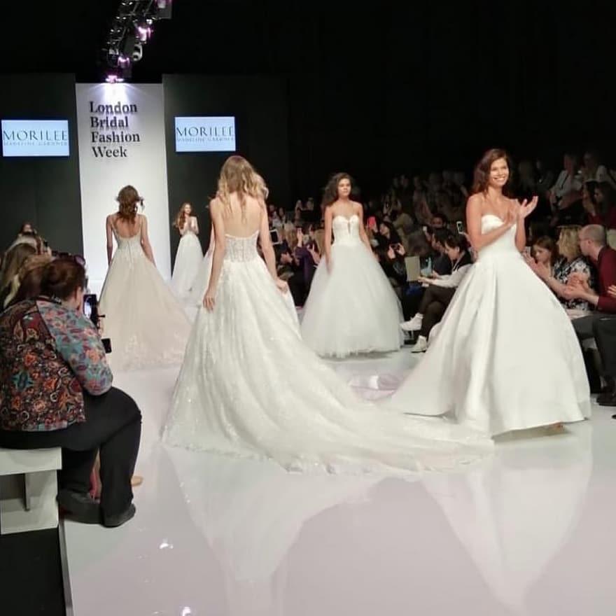 London Bridal fashion week catwalk show