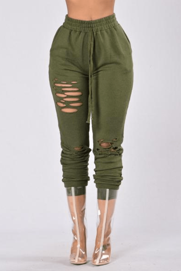 Savage Mode Pants - Olive