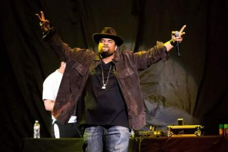 SEATTLE, WA - DECEMBER 11:  Sir Mix-a-Lot (Anthony Ray) performs live at Key Arena on December 11, 2013 in Seattle, Washington.  (Photo by Suzi Pratt/FilmMagic)