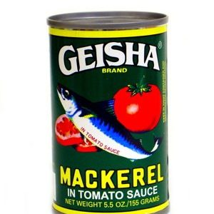 Geisha (Mackerel in tomato sauce)