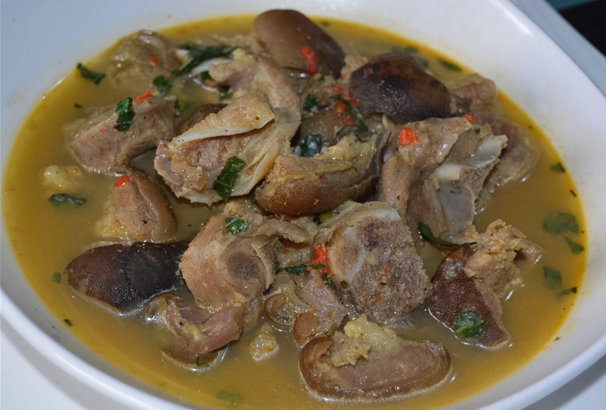 Nigerian pepper soup