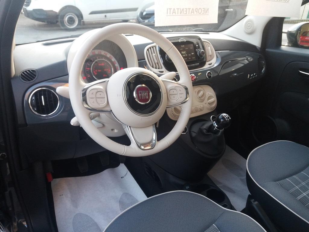 Fiat 500 1.2 69 cv Lounge (9)