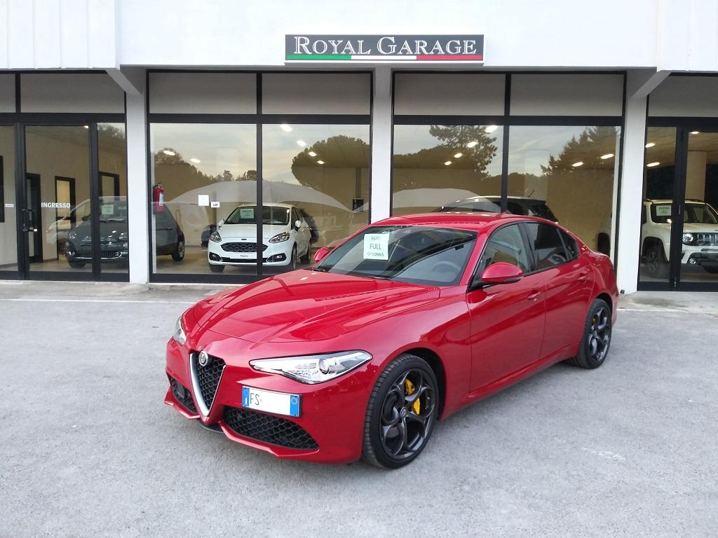 Alfa Romeo Giulia 2.2 Turbo Diesel 180 cv AT8 Super Sport Edition (1)