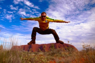 Surfing Ayers Rock