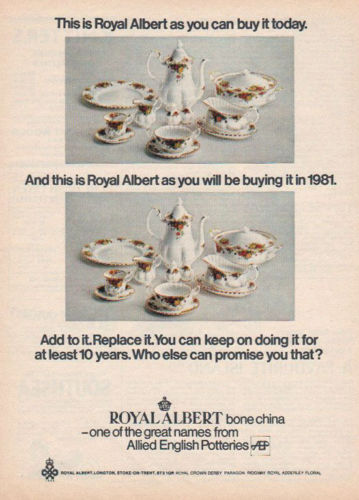 Old Country Roses advert