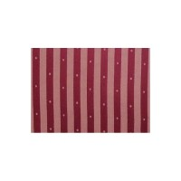 Chair Louis XVI style burgundy striped fabric with tassel ...