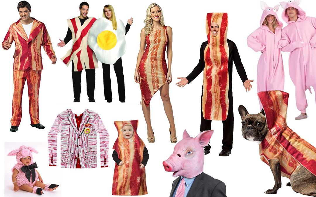 Top 10 Bacon Themed Halloween Costumes Royal Bacon Society