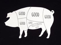 Panoware Men's Really Good Pig Bacon Funny T-Shirt - Royal ...