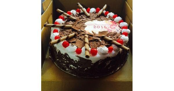 Chocolate Cherry Designer Black Forest Cake Delivery In Delhi