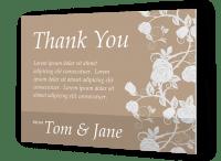 Custom Thank You Card Printing Online