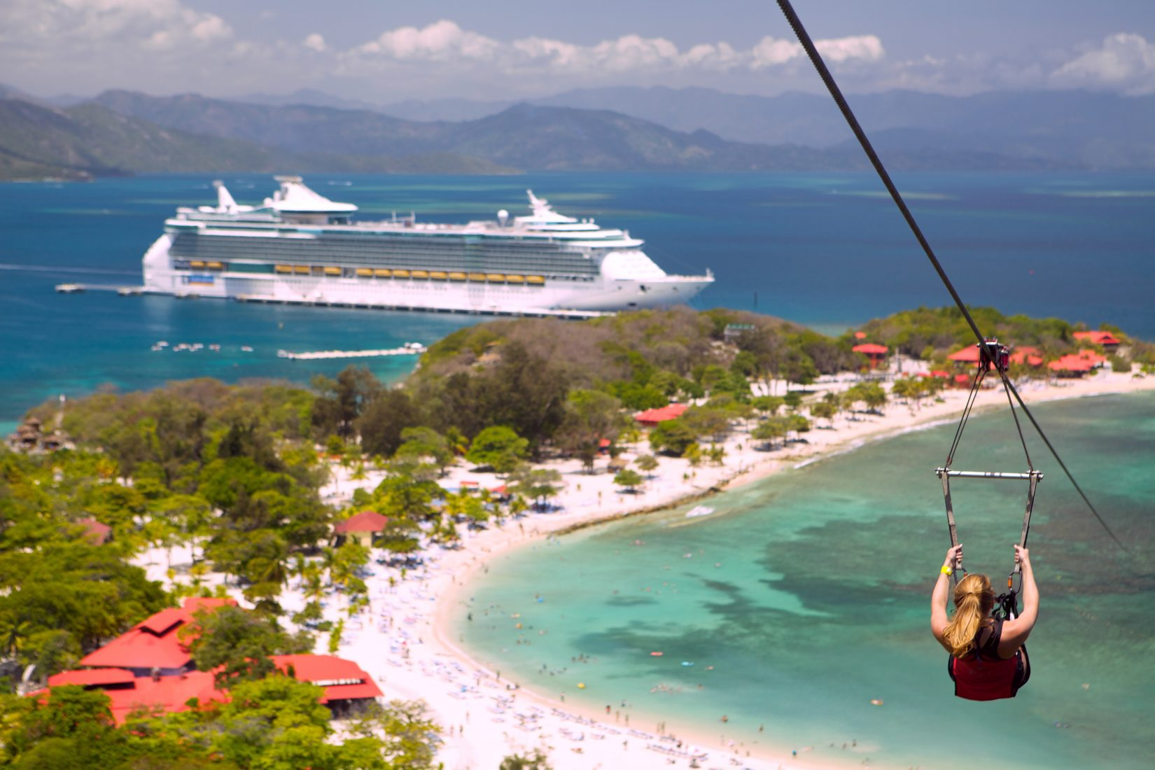 8 hours in labadee