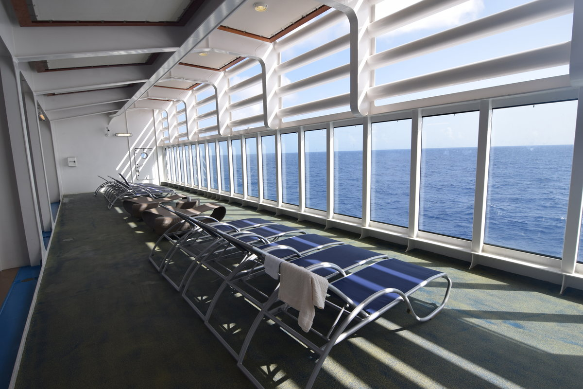 relax your back chair how to make covers for dining room chairs royal caribbean secrets: hidden lounge deck on harmony of the seas | blog