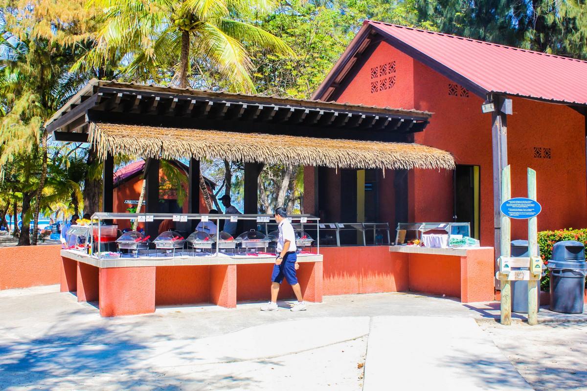 Barefoot Beach Cabanas on Royal Caribbeans Labadee