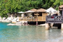 Over the Water Cabanas in Labadee Royal Caribbean