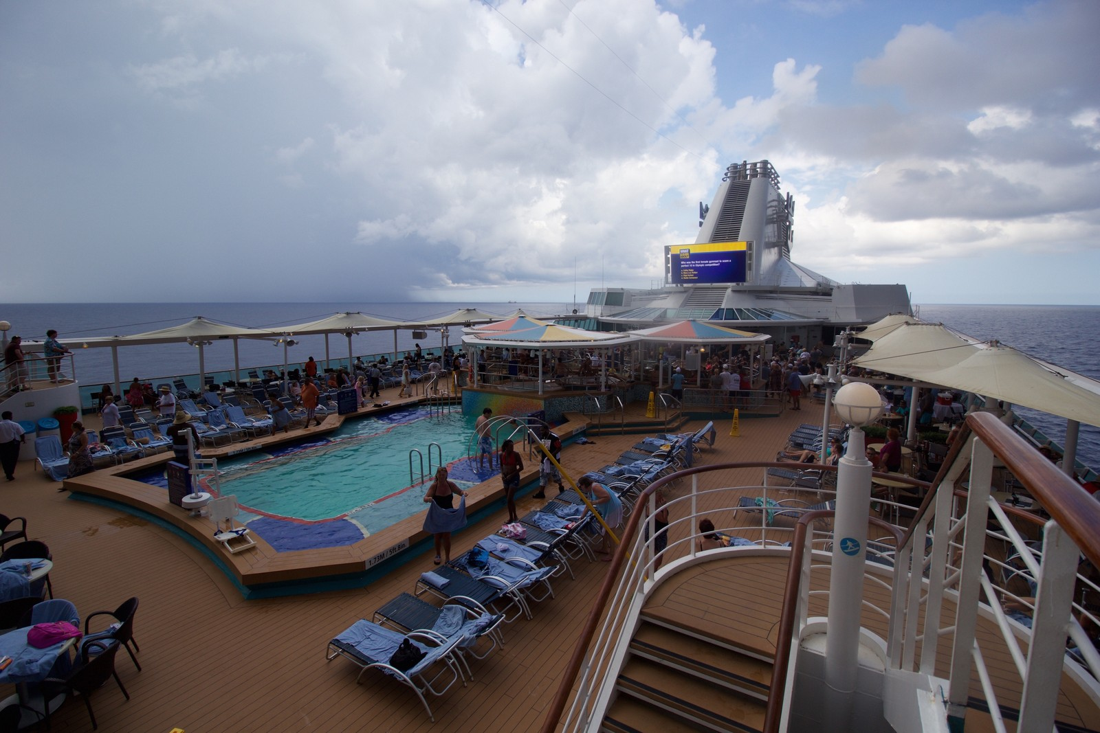 Empress of the Seas Live Blog Day 3  Sea Day  Royal