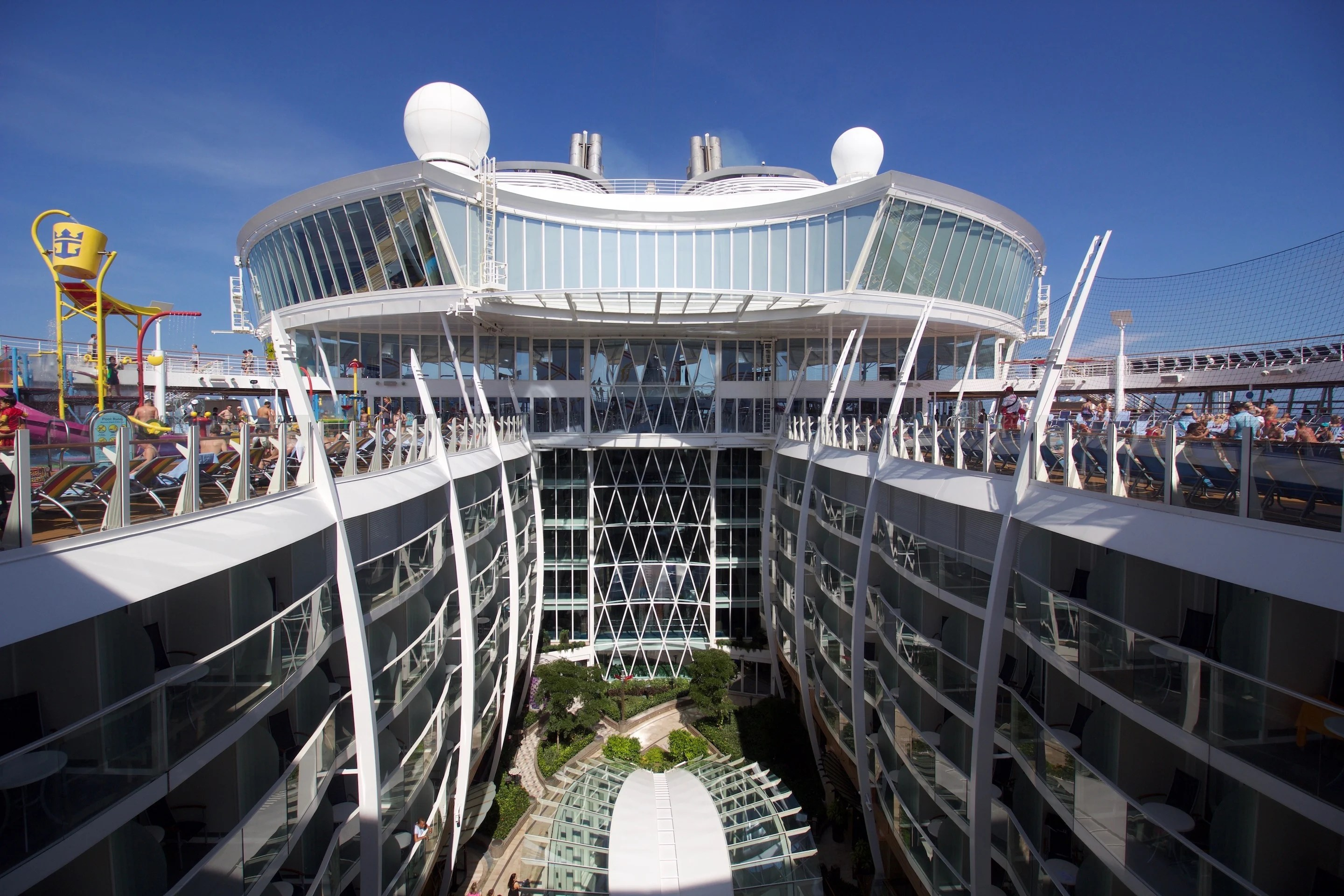 Harmony of the Seas Live Blog  Michaels Day 2  Sea Day