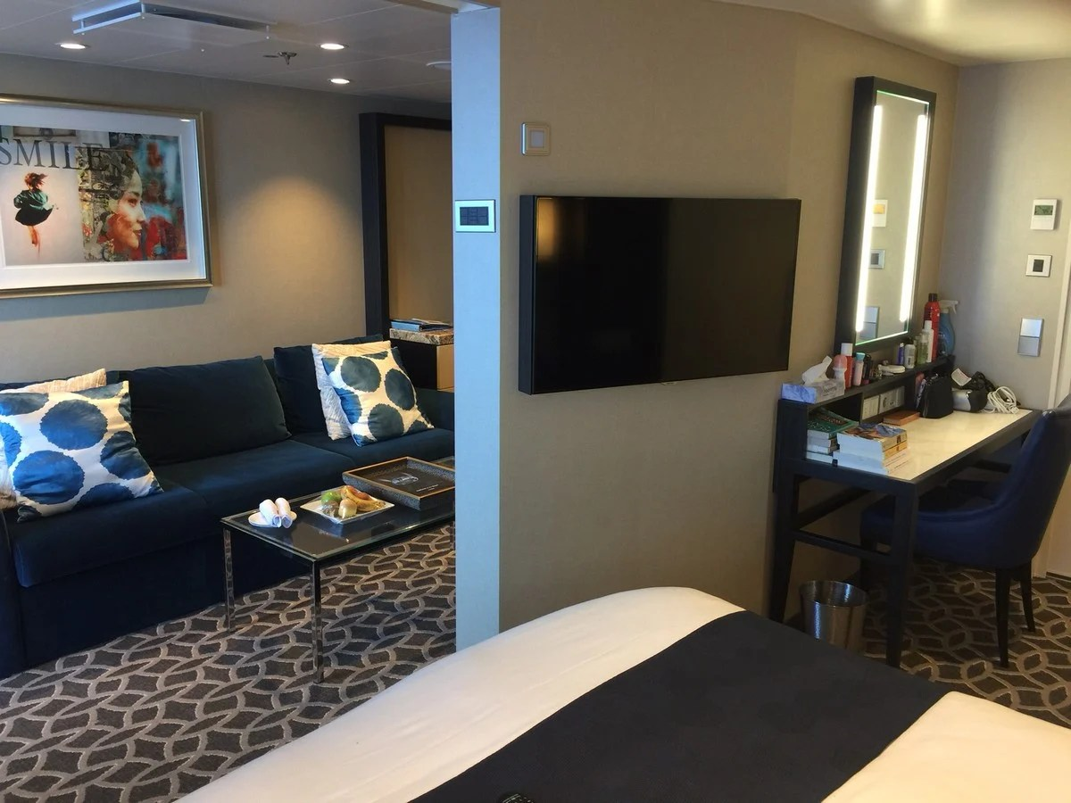 Photo tour of Grand Suite on Royal Caribbeans Anthem of