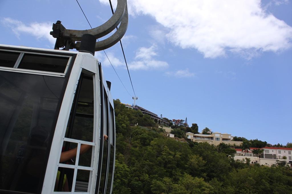 Excursion Focus St Thomas Sky Ride to Paradise Point