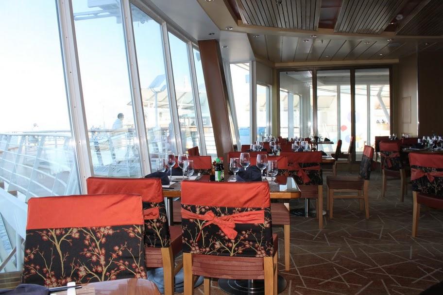 Restaurant Review Izumi  Royal Caribbean Blog