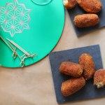 Tapas : croquettes au poulet ou au jambon Serrano