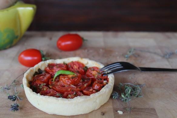 tarte tomates pesto