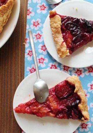 tarte martha stewart aux prunes