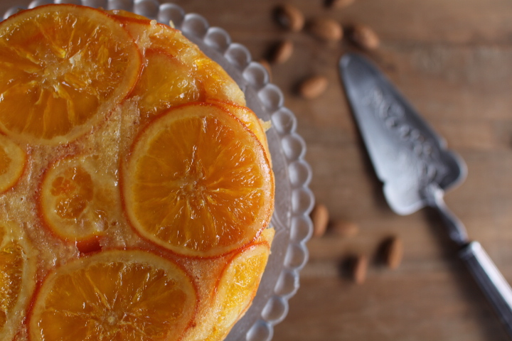 Gateau amande orange