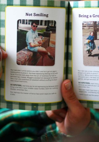 Read & Drink : Dads are the original hipsters de Brad Getty, rainbow smoothie