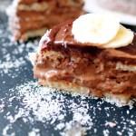Mini Criollo : entremet coco-chocolat-banane [Pierre Hermé]