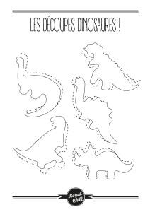 decoupes dinosaures dinosaurus
