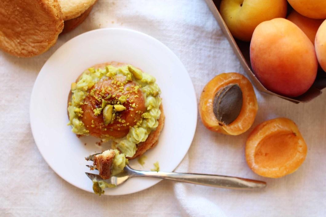 recette sables abricots pistache christophe adam