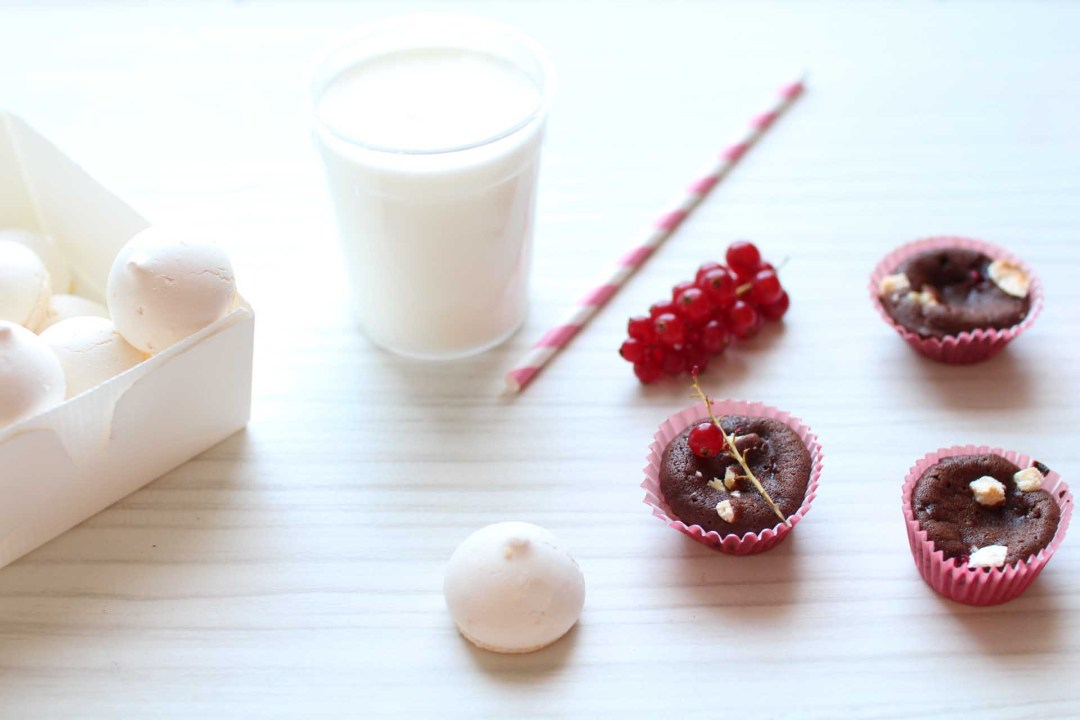 moelleux groseilles coeur coulant chocolat blanc