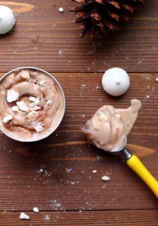 glace glazed creme de marron meringue