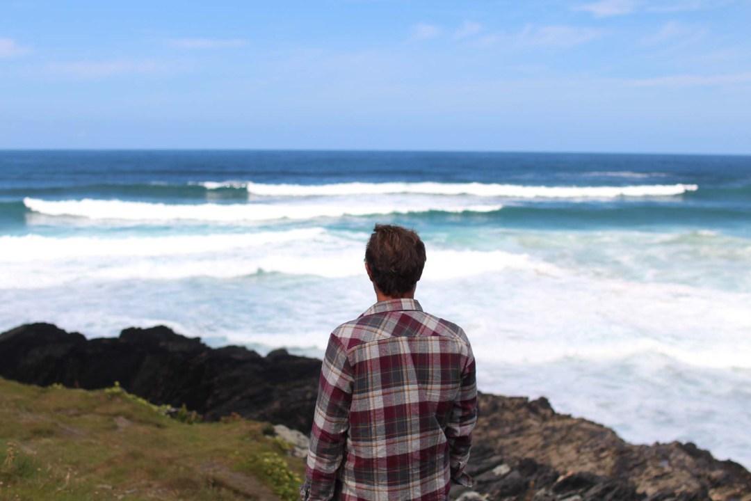 vagues plage surf galice