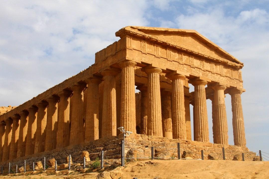 vallée des temples en sicile