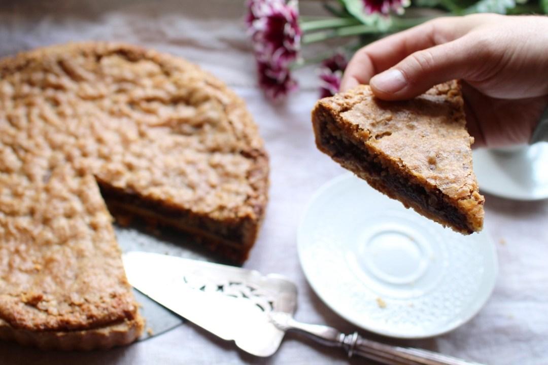 la cookie pie tarte cookie aux clats de chocolat et noix de p can royal chill blog. Black Bedroom Furniture Sets. Home Design Ideas